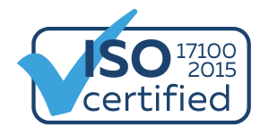 ISO 17100:2015 Certification